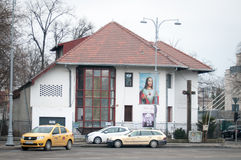 Moderne kerk Stock Afbeeldingen