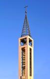 Moderne kerktoren stock fotografie