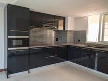 Moderne keuken, Stock Foto's