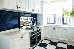 Moderne keuken royalty-vrije stock foto's