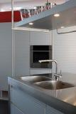 Moderne keuken - detail Stock Foto