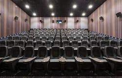 Moderne Kinohalle Stockbild