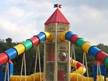 Moderne kleurrijke speelplaats Royalty-vrije Stock Fotografie