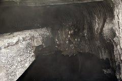 Moderne kolenmijn ondergronds Stock Fotografie