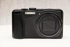 Moderne kompakte Digitalkamera Stockfotografie