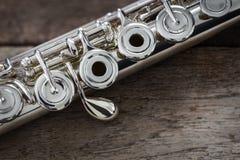 Moderne Konzert-Flöte Stockfotos