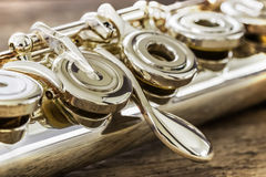 Moderne Konzert-Flöte Lizenzfreies Stockbild