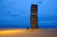 Moderne kunst in Barcelona, Spanje stock foto