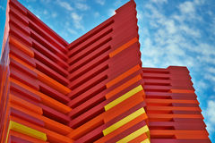 Moderne Kunst - Bloch-Krebs-Überlebend-Park Stockfoto