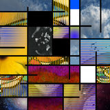Moderne Kunst gründete Auszug Lizenzfreie Stockbilder