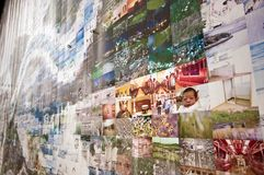 Moderne kunsttentoonstelling in Seoel Stock Foto's