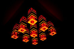 Moderne lamp Royalty-vrije Stock Afbeeldingen