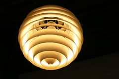 Moderne lamp Royalty-vrije Stock Afbeelding