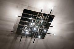 Moderne Lampe Stockfoto