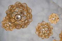 Moderne Lampen Stockfoto