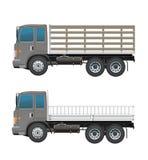 Moderne Landbouwbedrijfvrachtwagen of legervrachtwagen Stock Afbeeldingen