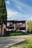 Moderne Landhäuser Stockbild