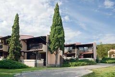 Moderne Landhäuser Stockbilder