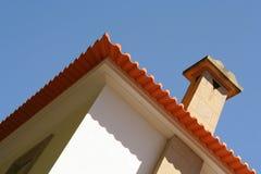 Moderne Landhausperspektive stockbild