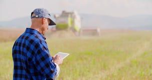 Moderne Landwirtschaftslandwirtschaft stock video