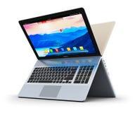 Moderne Laptops Lizenzfreie Stockfotografie