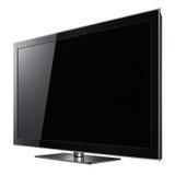 Moderne lcd TV met groot scherm Stock Fotografie