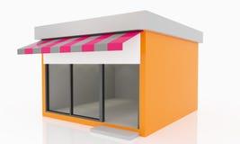 Moderne Lege Winkel Royalty-vrije Stock Foto's