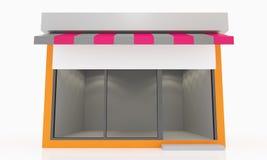 Moderne Lege Winkel Royalty-vrije Stock Afbeeldingen