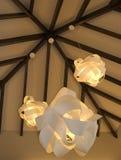 Moderne Leuchter. Stockfotos