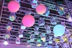 Moderne lichttechnische Ausrüstung Lizenzfreie Stockfotos