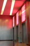Moderne liften stock foto's