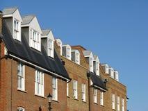 Moderne London-Wohnungen Stockbild
