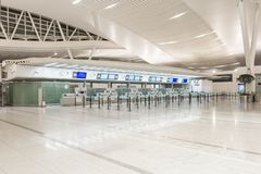 Moderne Luchthaven stock foto's