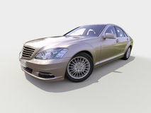 Moderne luxe uitvoerende auto Royalty-vrije Stock Afbeelding