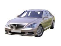 Moderne luxe uitvoerende auto Stock Foto's