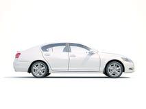 moderne luxeauto Royalty-vrije Stock Foto's