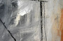 moderne Malerei, Detail Stockfoto