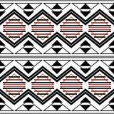 Moderne manier in grafische druk - naadloos geometrisch patroon stock illustratie