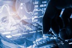 Moderne manier van uitwisseling Bitcoin is geschikte betaling in globaal Stock Afbeeldingen