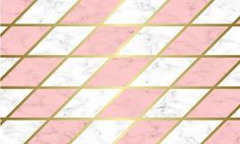 Moderne Marmorbeschaffenheitshintergrundschablone lizenzfreie stockfotos