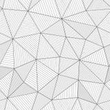 Moderne Maschenbeschaffenheit mit parallelen Fasern Helles Schwarzweiss stock abbildung