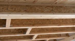 Moderne materialen voor bouw - I-Straal carport bouw stock foto's