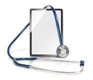 Moderne medische tablet Stock Afbeelding