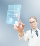Moderne medizinische Behandlung Lizenzfreie Stockfotos