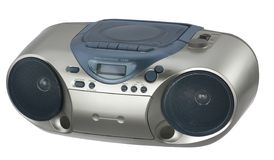 Moderne metaal gekleurde radio Royalty-vrije Stock Foto
