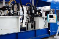 Moderne metaalmachines Royalty-vrije Stock Afbeeldingen