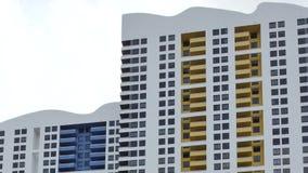 Moderne Miami-Architektur 4k stock video footage
