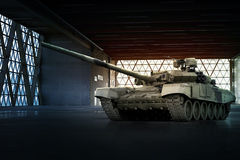 Moderne militaire tank Stock Foto