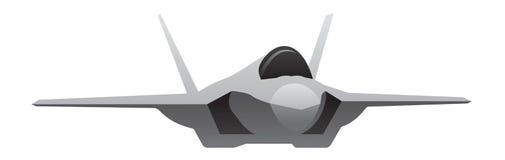 Moderne Militaire Vechter Jet Aircraft Royalty-vrije Stock Foto's