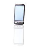 Moderne mobiele telefoon stock afbeelding